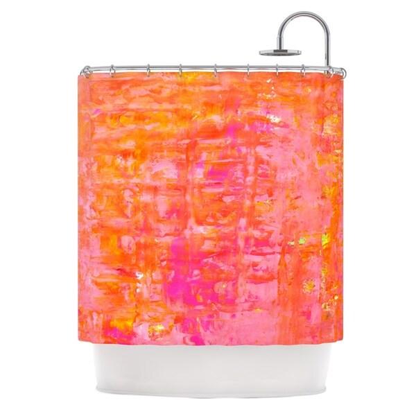 KESS InHouse CarolLynn Tice 'Wiggle' Shower Curtain (69x70)