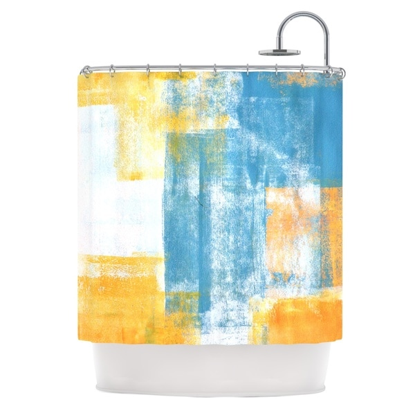 KESS InHouse CarolLynn Tice 'Color Combo' Shower Curtain (69x70)