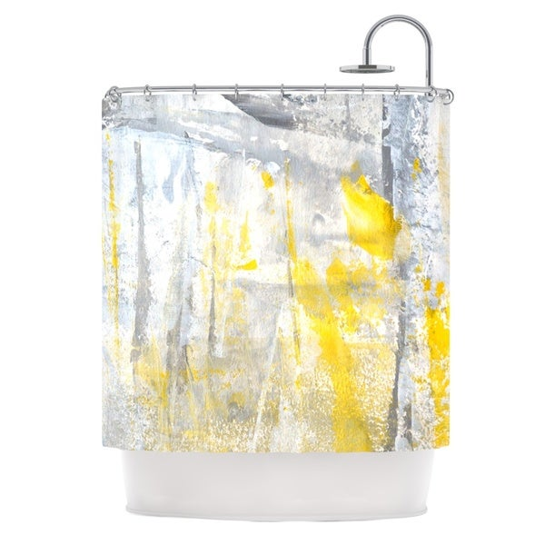 KESS InHouse CarolLynn Tice 'Abstraction' Shower Curtain (69x70)