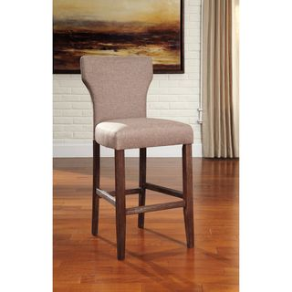 Signature Design by Ashley Glosco Brown Tall Barstool (Set of 2)