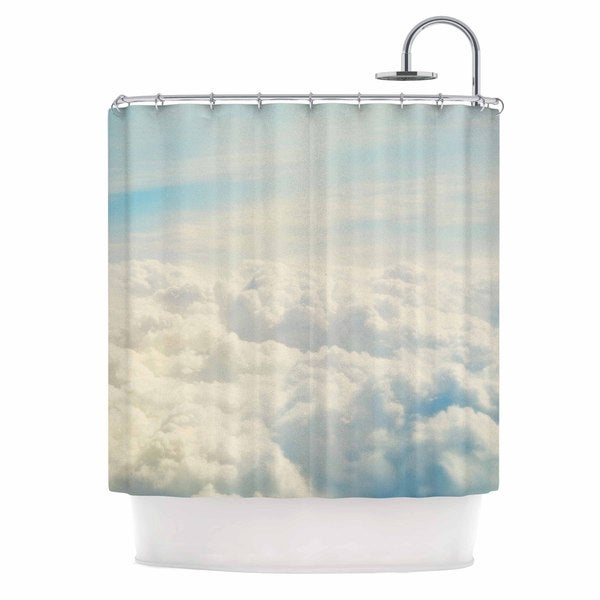 KESS InHouse Chelsea Victoria 'Life Is But A Dream' Shower Curtain (69x70)
