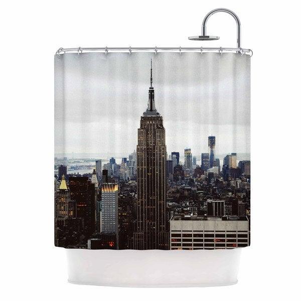 KESS InHouse Chelsea Victoria 'New York Stories' Shower Curtain (69x70)