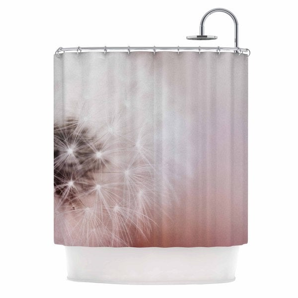 KESS InHouse Chelsea Victoria 'Dandelion Dreams' Shower Curtain (69x70)