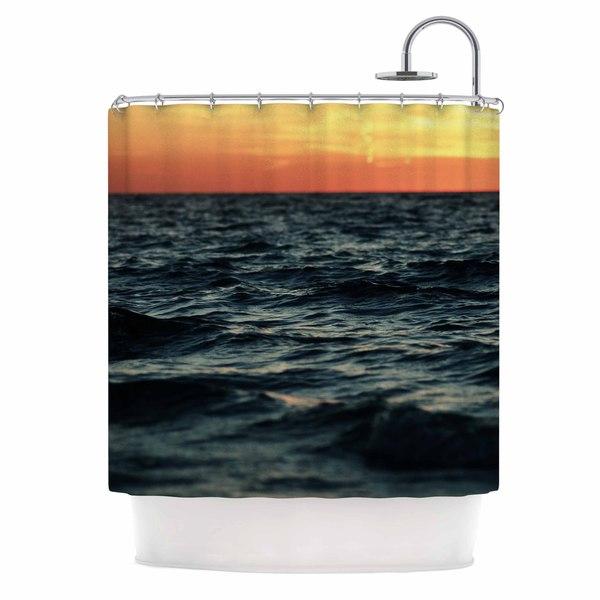 KESS InHouse Chelsea Victoria 'Laguna' Shower Curtain (69x70)