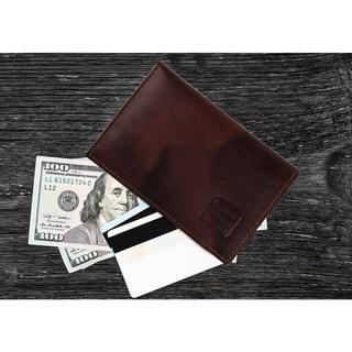 designer money clip card holder 0mho  Suvelle WR100 Men's Slim Leather RFID Card Thin Minimalist Front Pocket  Wallet