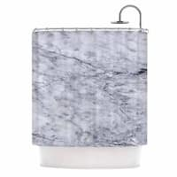 KESS InHouse Chelsea Victoria 'Marble' Shower Curtain (69x70)