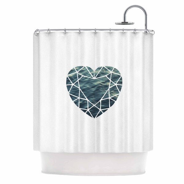 KESS InHouse Chelsea Victoria 'Ocean Love' Shower Curtain (69x70)
