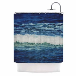 KESS InHouse Chelsea Victoria 'Sink Back Into' Shower Curtain (69x70)