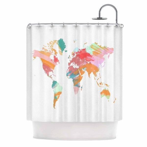KESS InHouse Chelsea Victoria 'Wild World' Shower Curtain (69x70)