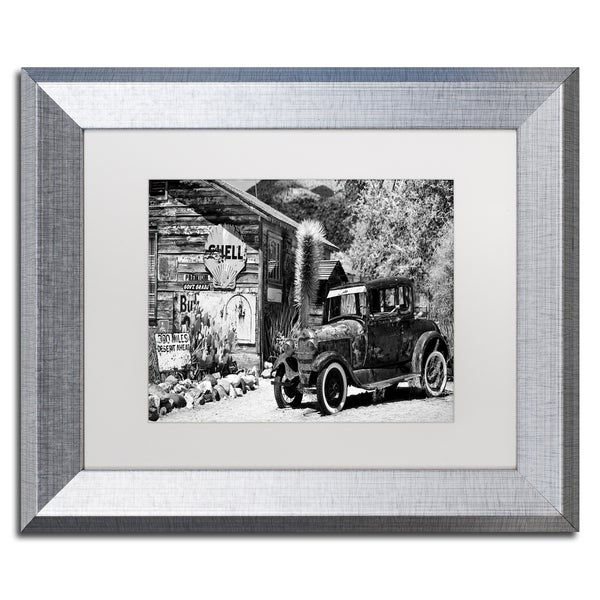 Philippe Hugonnard \'Old American Car\' Matted Framed Art - Free ...