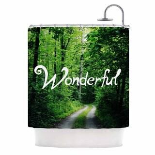 KESS InHouse Chelsea Victoria 'Wonderful' Shower Curtain (69x70)