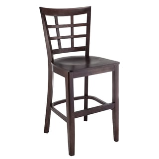Window Pane Beechwood Counter Stool