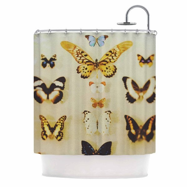 KESS InHouse Chelsea Victoria 'The Butterfly Collection' Shower Curtain (69x70)