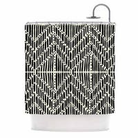 KESS InHouse DLKG Design 'Tribal Drawings' Shower Curtain (69x70)