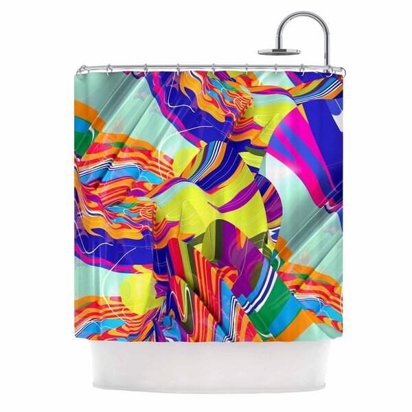 KESS InHouse Danny Ivan 'To Swim' Shower Curtain (69x70)