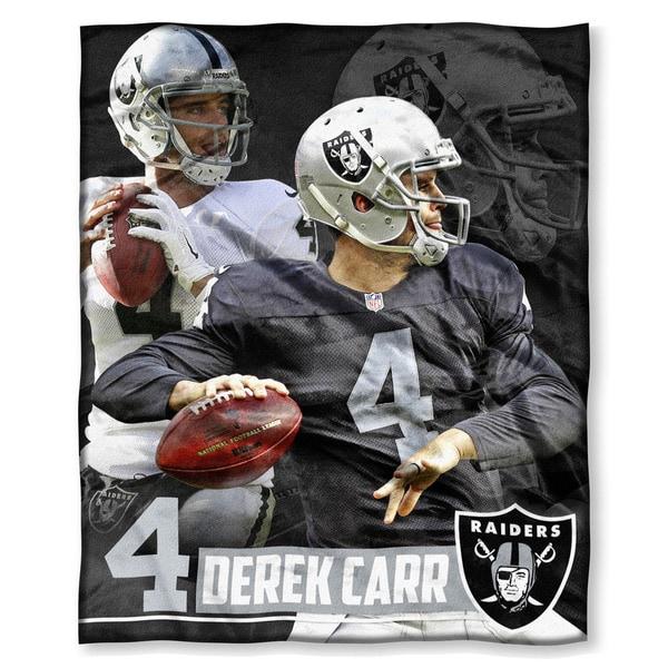 NFL 575 Raiders - Derek Carr Silk Touch Throw