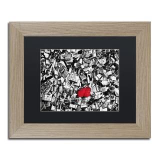 Philippe Hugonnard 'Love Locks' Matted Framed Art