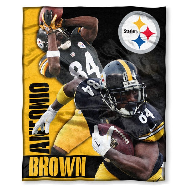 Nfl 575 Steelers Antonio Brown Silk Touch Throw Free Shipping On Orders Over 45 Overstock