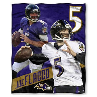 NFL 575 Ravens - Joe Flacco Silk Touch Throw