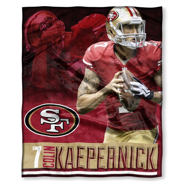 NFL 575 49ers - Colin Kaepernick Silk Touch Throw