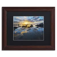Mathieu Rivrin 'Nature's Gift' Matted Framed Art