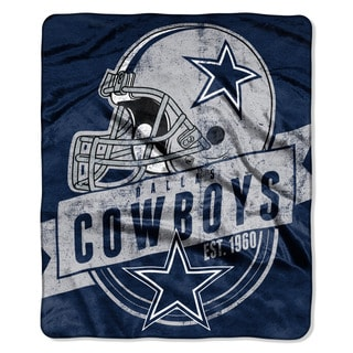 NFL 708 Cowboys Grand Stand Raschel Throw