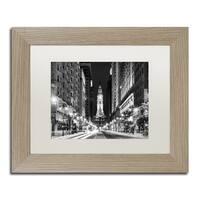 Philippe Hugonnard 'City Hall Philadelphia' Matted Framed Art