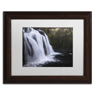 Mathieu Rivrin 'Evanescence' Matted Framed Art
