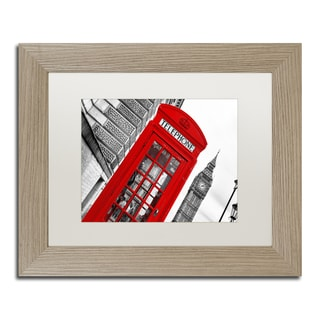 Philippe Hugonnard 'London' Matted Framed Art