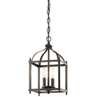 Kichler Lighting Larkin Collection 2-light Olde Bronze Pendant
