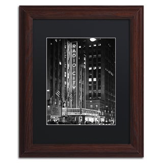 Philippe Hugonnard 'Radio City Music Hall' Matted Framed Art