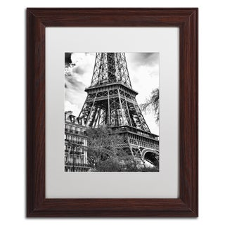 Philippe Hugonnard 'Eiffel Tower Paris II' Matted Framed Art