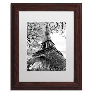 Philippe Hugonnard 'Eiffel Tower 2' Matted Framed Art