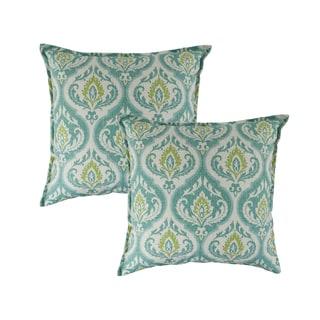 Sherry Kline Splendor Aqua 20-inch Decorative Pillows (Set of 2)