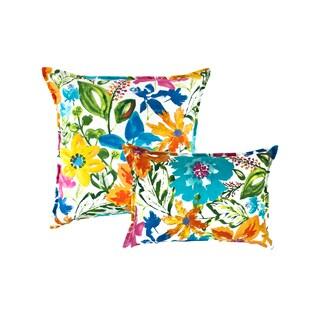 Sherry Kline Summer Floral Multi Combo Pillows (Set of 2)