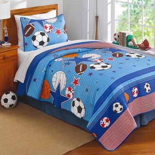 Sports and Stars 3-piece Quilt Set