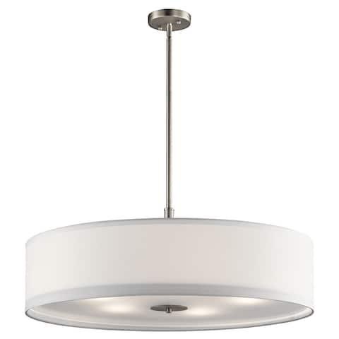 Kichler Lighting Transitional 5-light Brushed Nickel Pendant