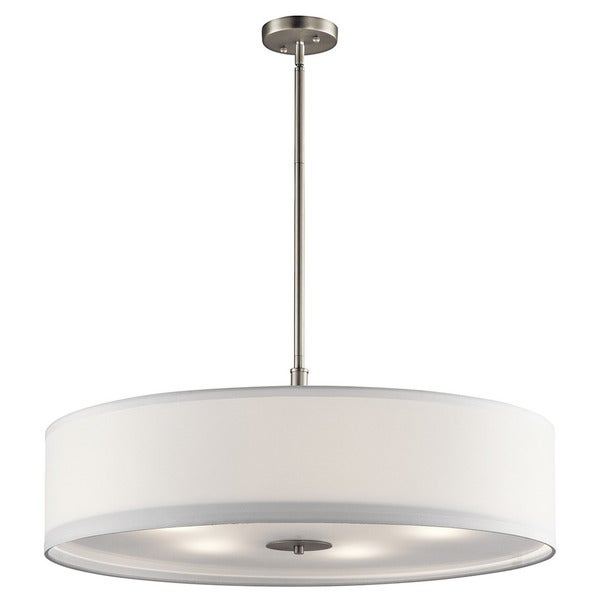 Kichler Lighting: Shop Kichler Lighting Transitional 5-light Brushed Nickel