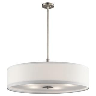 Kichler Lighting Transitional 5-light Brushed Nickel Pendant