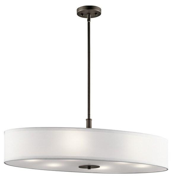 Kichler Lighting Reviews: Shop Kichler Lighting Transitional 6-light Olde Bronze