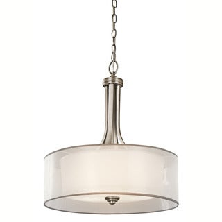 Kichler Lighting Lacey Collection 4-light Antique Pewter Pendant
