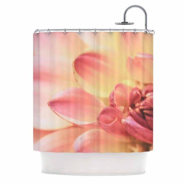 KESS InHouse Debbra Obertanec 'Pastels Of Spring' Shower Curtain (69x70)