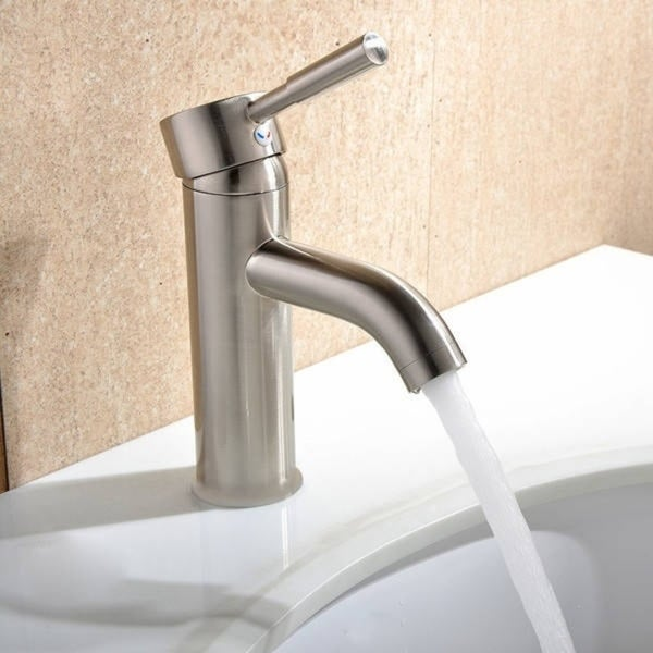 Haifa 6-inch Single Hole Bathroom Faucet. Opens flyout.