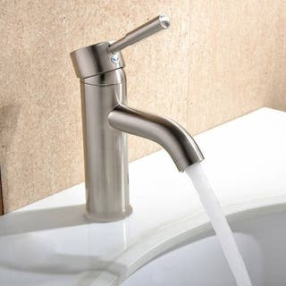 Haifa 6 Inch Single Hole Handle Bathroom Faucet 2 Options Available