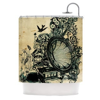 KESS InHouse Frederic Levy-Hadida 'Sound of Nature' Shower Curtain (69x70)