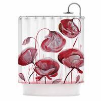 KESS InHouse Ivan Joh 'Poppies' Shower Curtain (69x70)