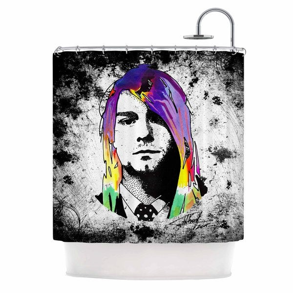 KESS InHouse Ivan Joh 'Grunge' Shower Curtain (69x70)