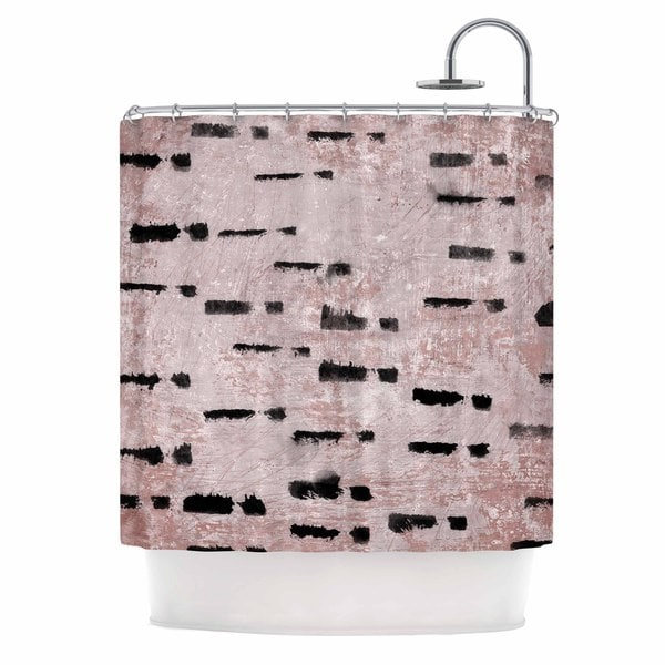 KESS InHouse Iris Lehnhardt 'Texture & Pattern 1' Shower Curtain (69x70)