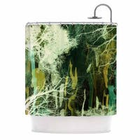 KESS InHouse Iris Lehnhardt 'Tree Of Life Green' Shower Curtain (69x70)