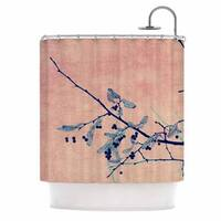 KESS InHouse Ingrid Beddoes 'Sweetgum Tree' Shower Curtain (69x70)